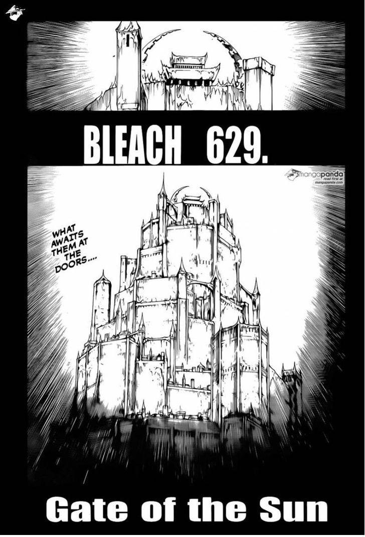 Bleach Ch 629: Gate of The Sun
