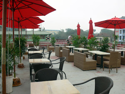 Không gian cafe đẹp tại cafe fastfood