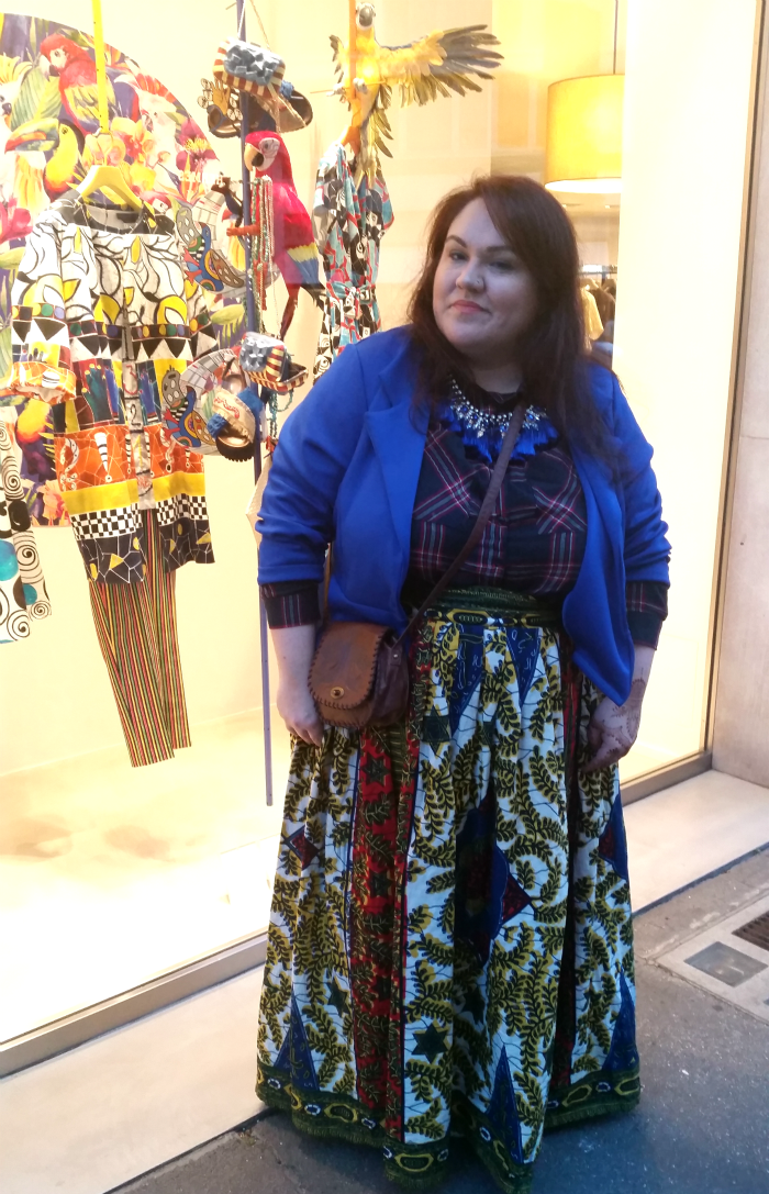 outfit plus size curvy ispirato a stella jean