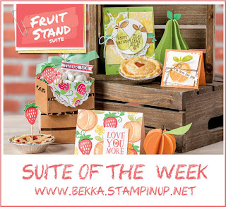 Fruit Stand from Stampin' Up! UK available to purchase here Stamps, Patterned Papers, Accessories