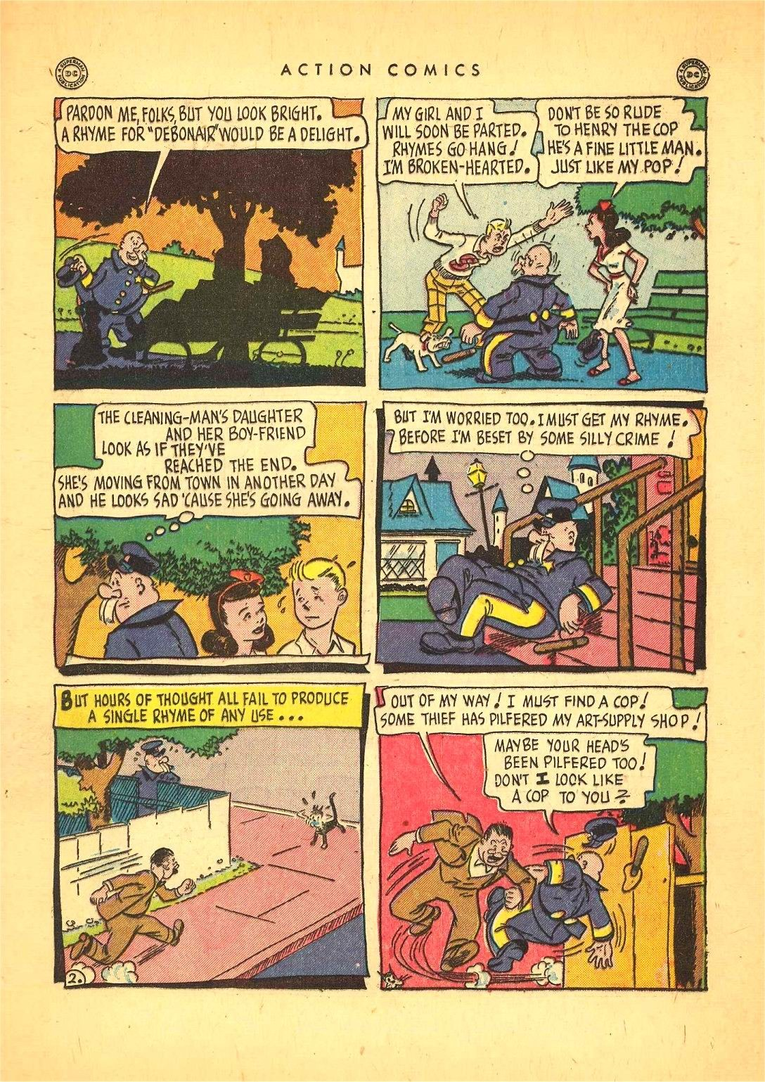 Read online Action Comics (1938) comic -  Issue #92 - 37