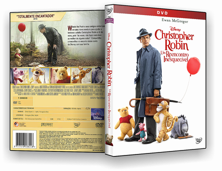 CAPA DVD – Christopher Robin Um Reencontro Inesquecível DVD-R