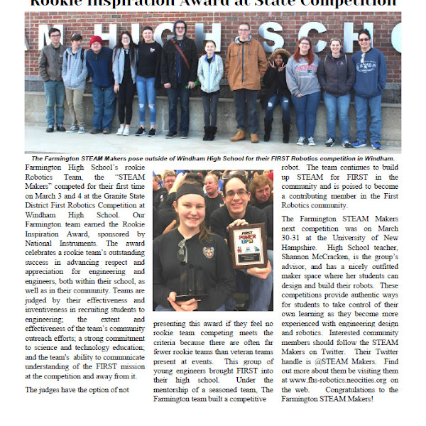 The April Edition of the Puddledock Press is Available Online and in Town