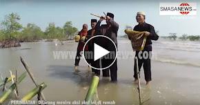 Thumbnail image for (Video) Raja Bomoh Guna Meriam Buluh Untuk 'Memagar' Malaysia Dari Serangan Negara Luar