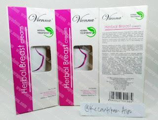 Vienna Herbal Treatment Breast Cream 80ml (Pengencang & Pembesar Payudara)