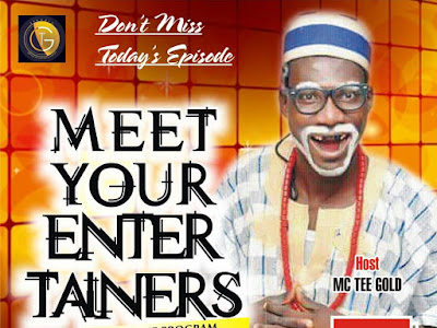 Interview with Comedian 13th Disciple on Meet Your Entertainers with MC Tee'Gold