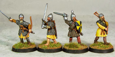 Wargame News and Terrain: Claymore Castings: New Highlander Command