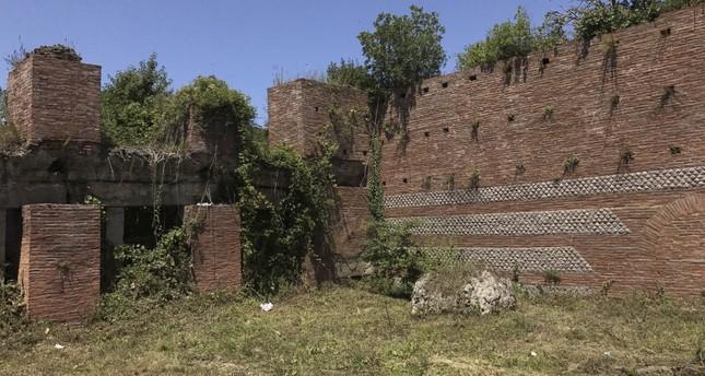 Ancient city in Amasra under excavation