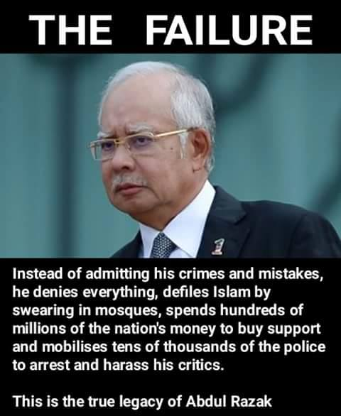 Image result for images of najib razak the corrupted one