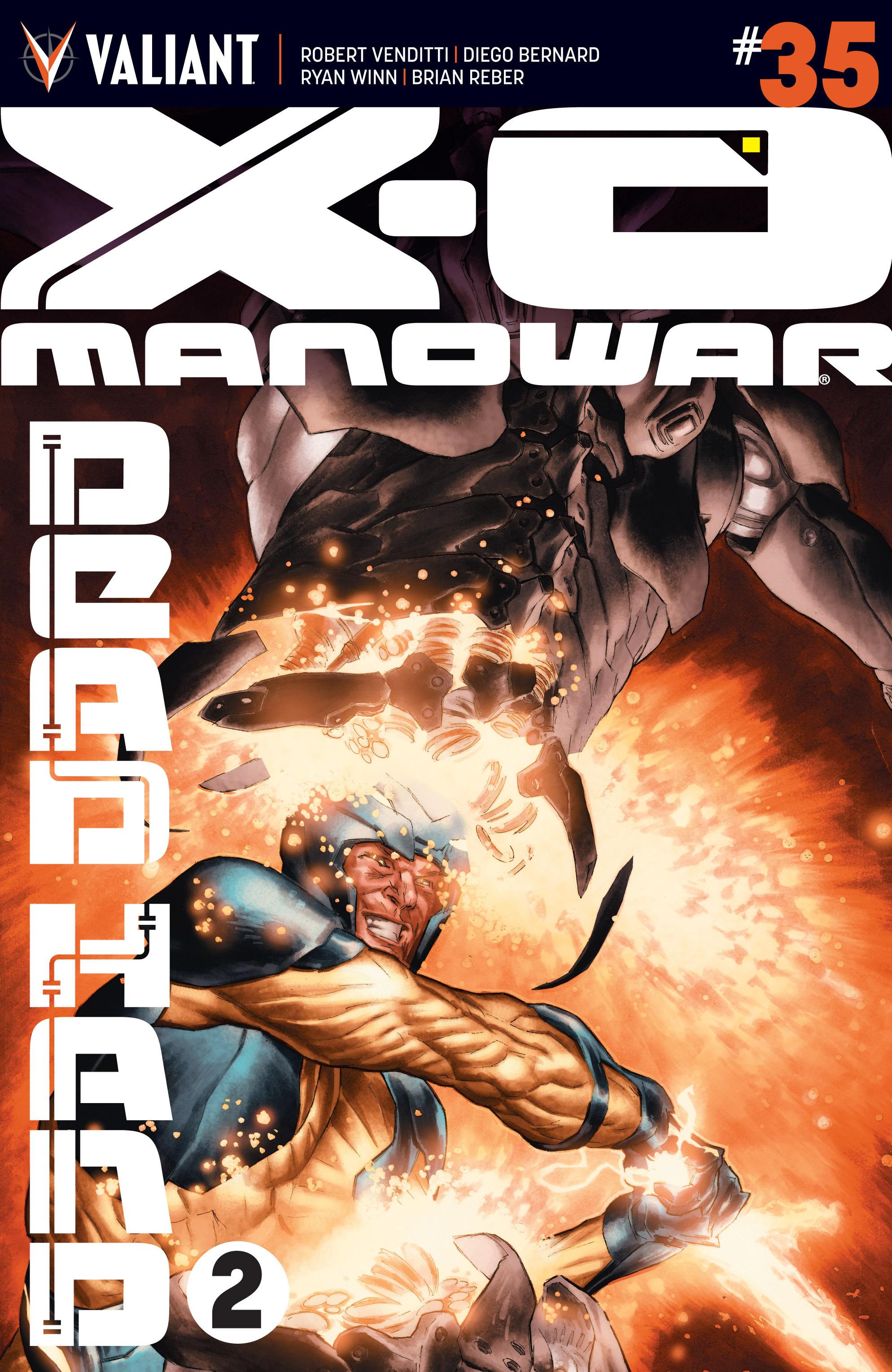 X-O Manowar (2012) 35 Page 1