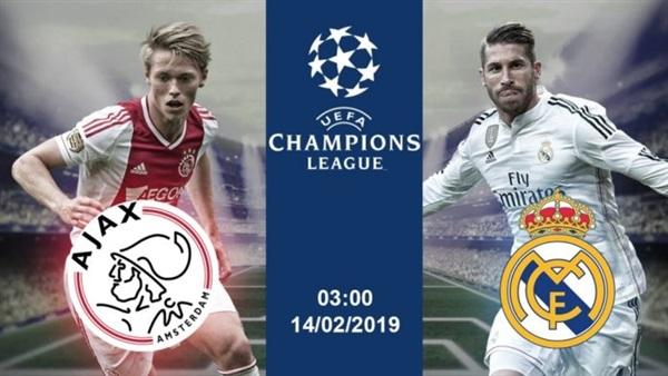 ريال مدريد يودع الأبطال علي يد أياكس أمستردام اليوم 5-3-2019 بعد هزيمته في دوري أبطال أوروبا
