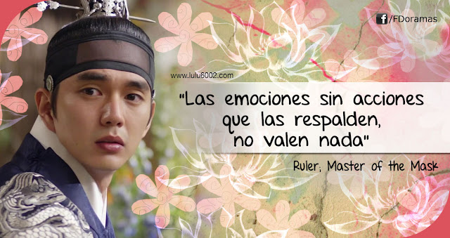 ruler master of the mask kdrama frases