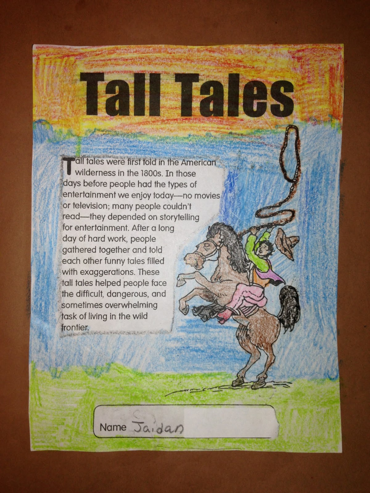 Totally Terrific In Texas Tall Tales