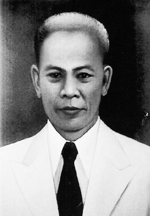 Foto Otto Iskandardinata hitam putih