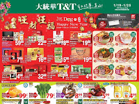T&T Supermarket Flyer valid Flyer January 19 - 25, 2018 Weekly Specials