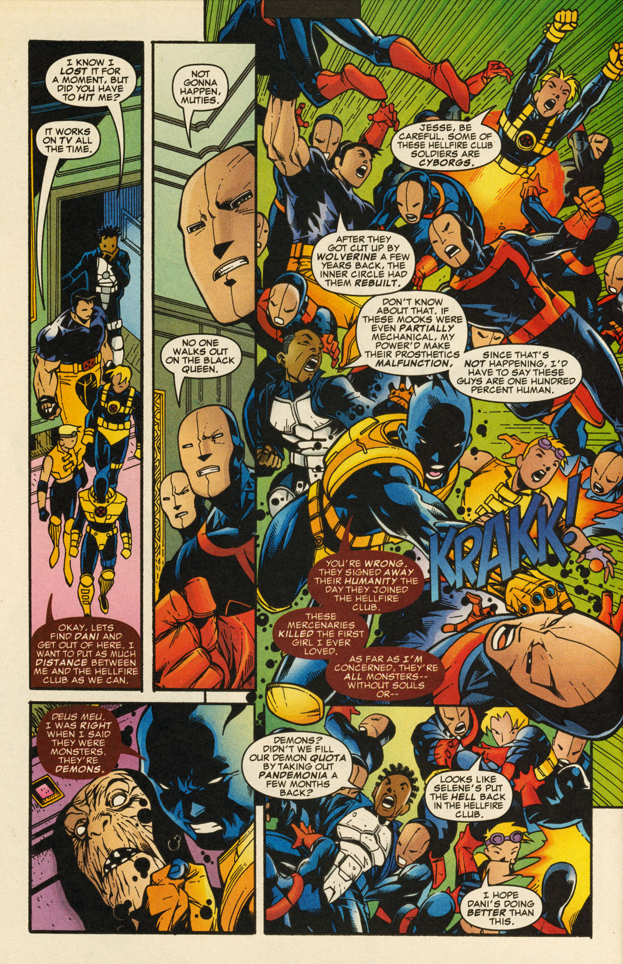 Read online X-Force (1991) comic -  Issue #98 - 27