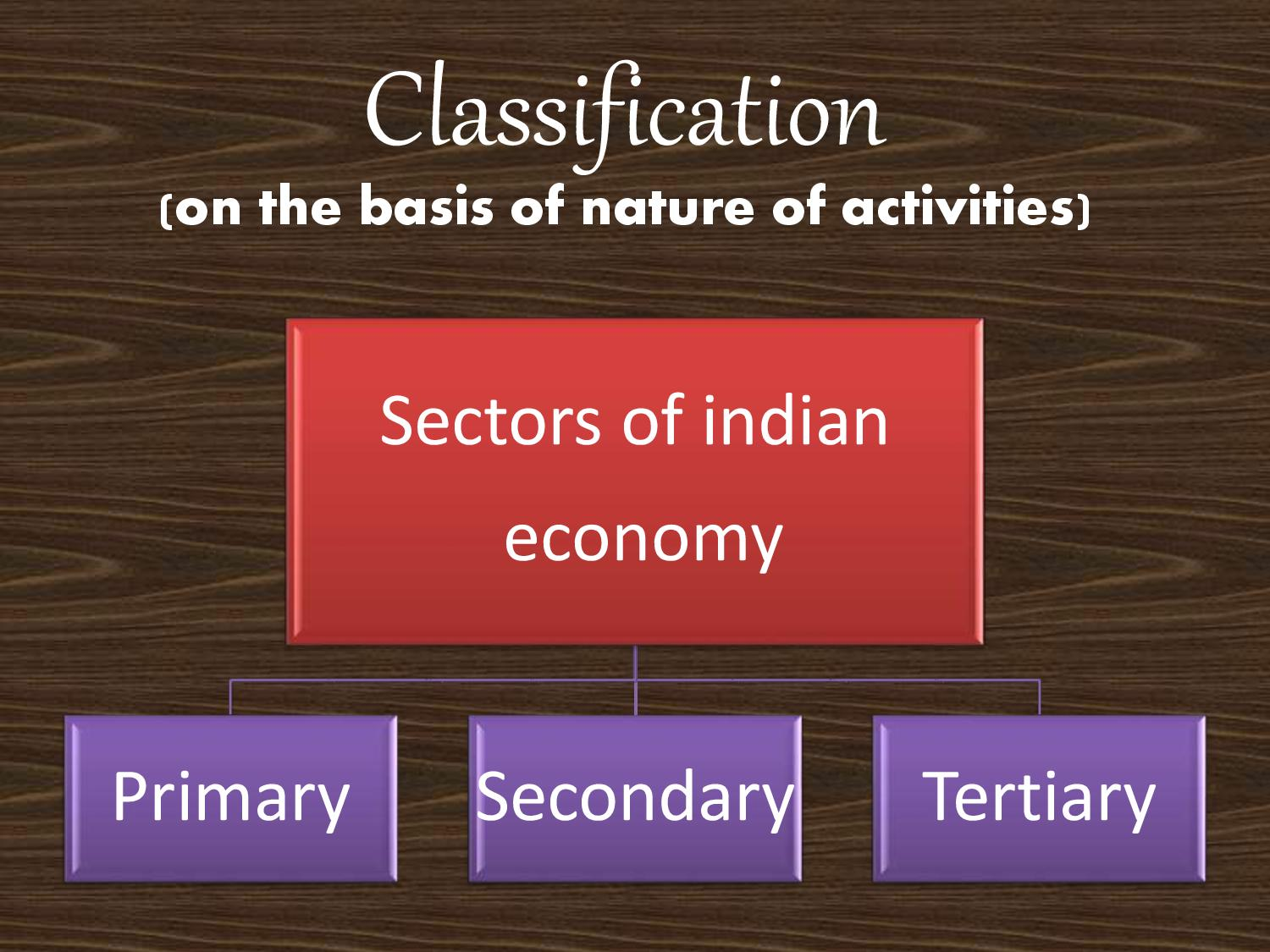 Sectors Of Indian Economy Class 10 (Eco)