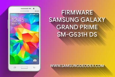 FIRMWARE SAMSUNG G531H DS