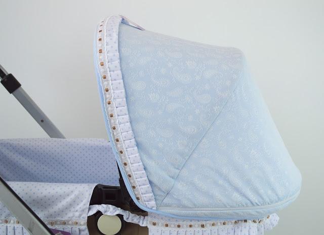capota extensible Bugaboo Camaleon azul