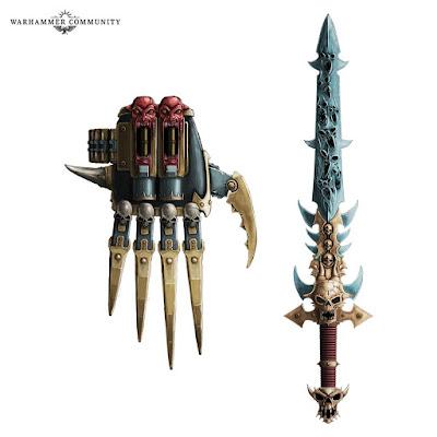 Garra de Horus y la espada Drach'nyen
