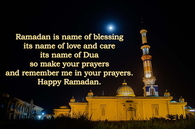 Best English Ramadan Greetings