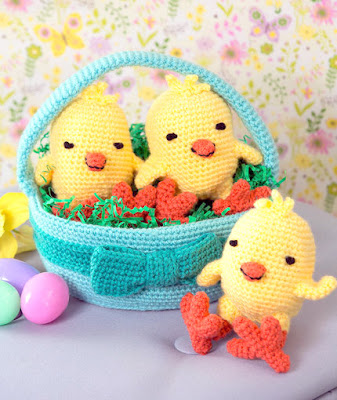 Amvabe Crochet Easter Baskets Free Crochet Patterns