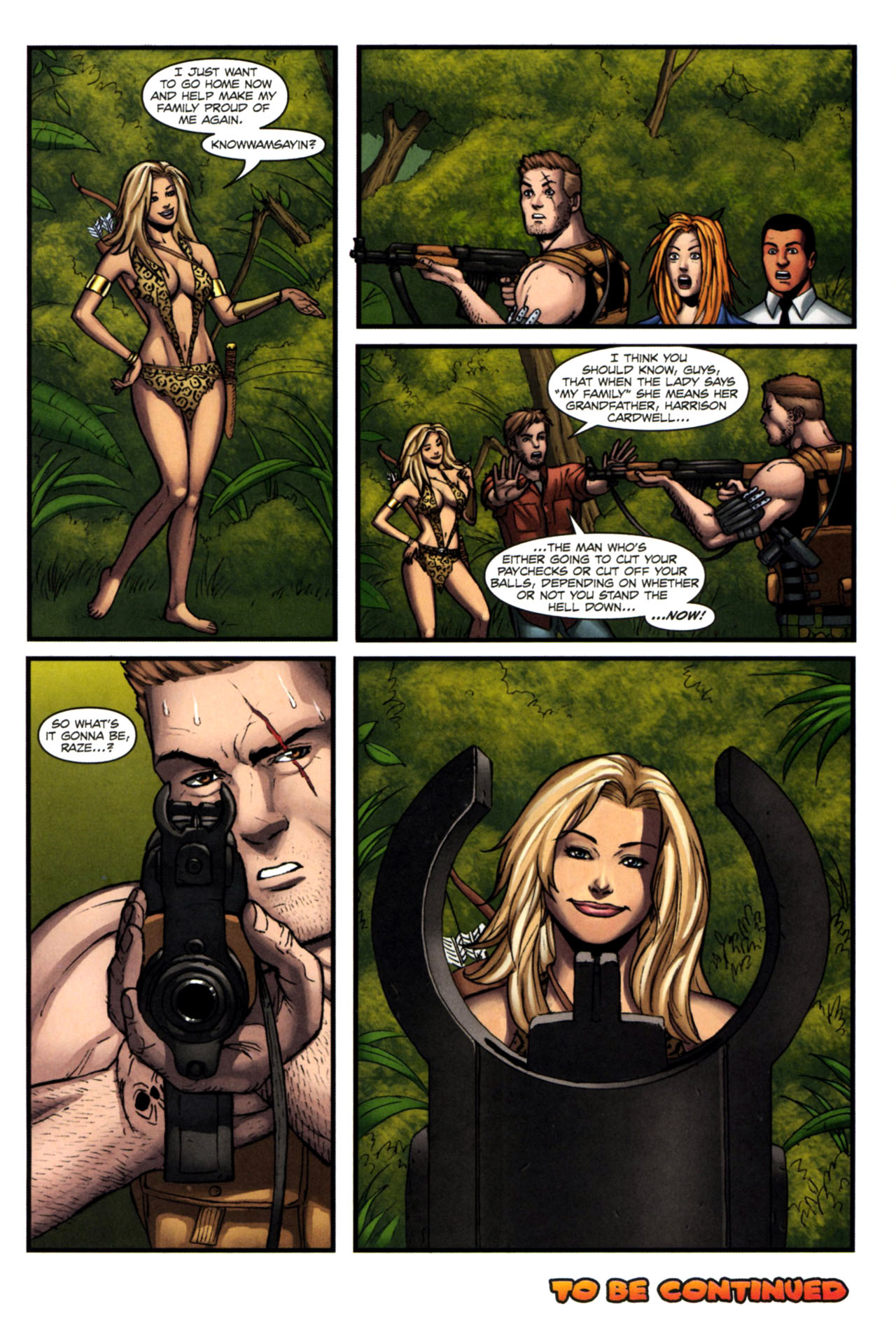 Read online Sheena, Queen of the Jungle comic -  Issue #4 - 24