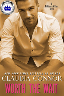 romance novel covers, contemporary romance, Worth the Wait by Claudia Connor