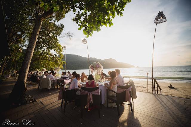 beach wedding langkawi malaysia venue