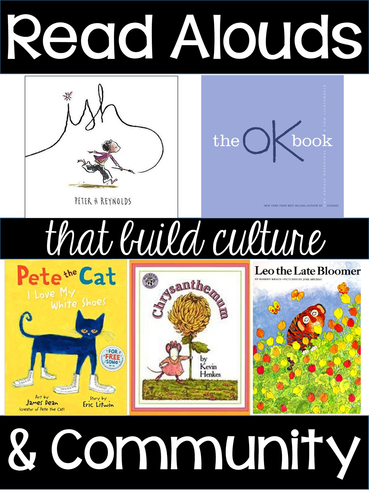 Back to School Growing Firsties Read Alouds