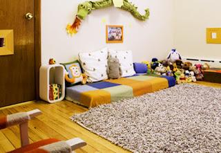 Colchão no Chão Montessori