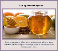 мед отличное антибактериальное средство