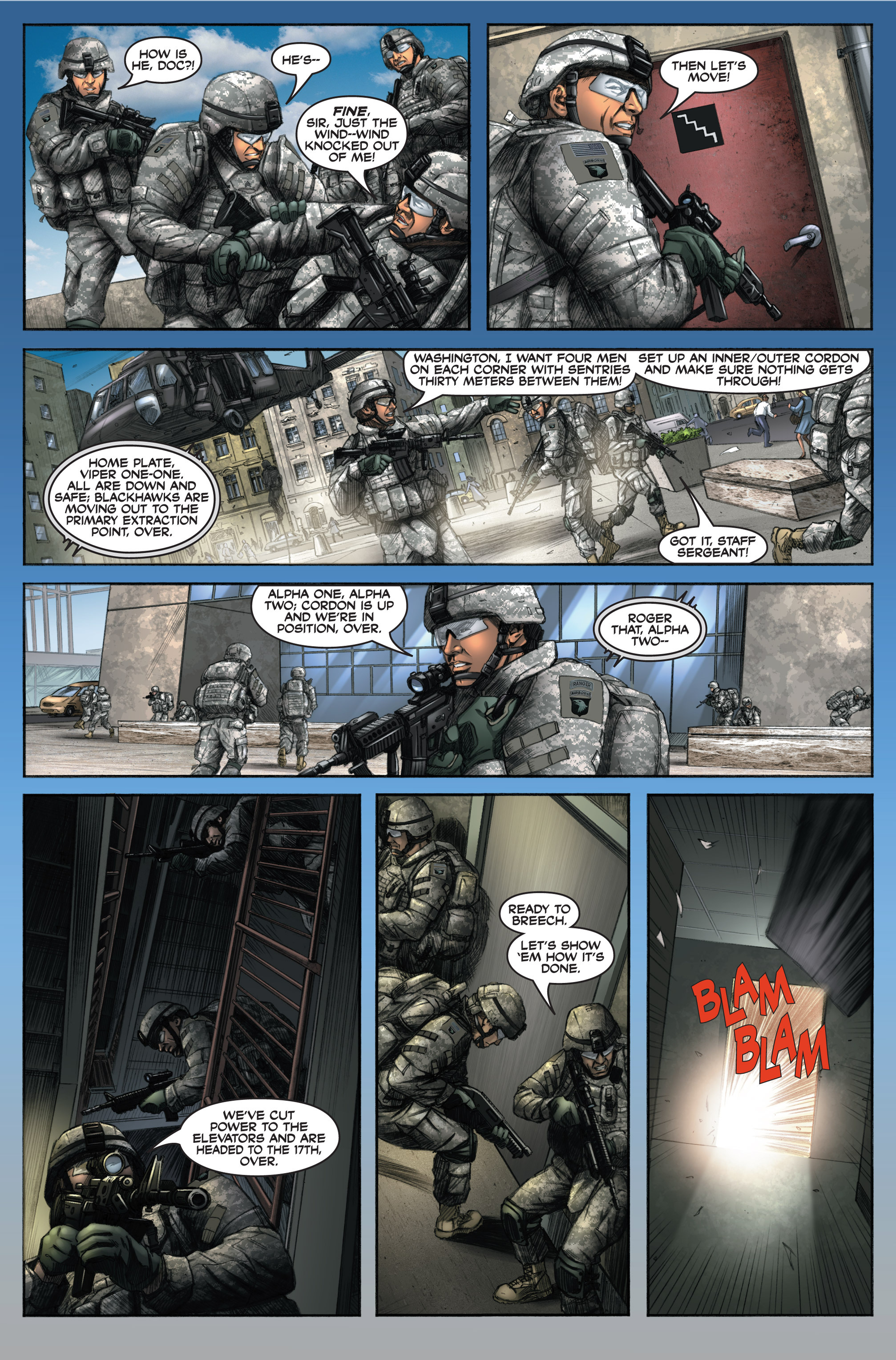 Read online America's Army comic -  Issue #6 - 14