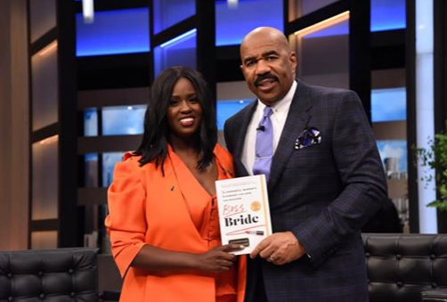 Charreah Jackson and Steve Harvey