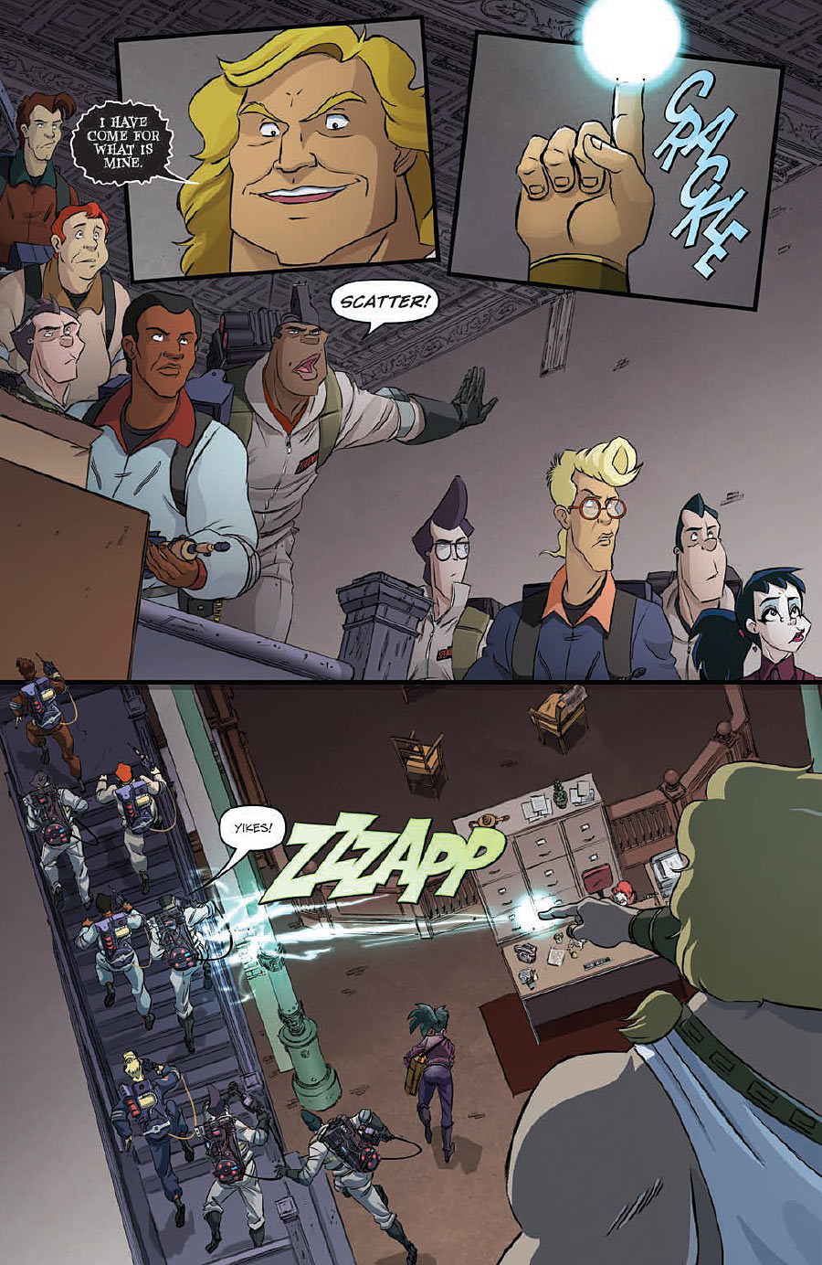 of 4 Subscription Var  NEW!!! Ghostbusters Get Real #4