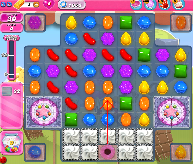 Candy Crush Saga 1656