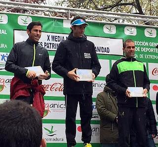Atletismo Aranjuez Medio Maratón de Cáceres