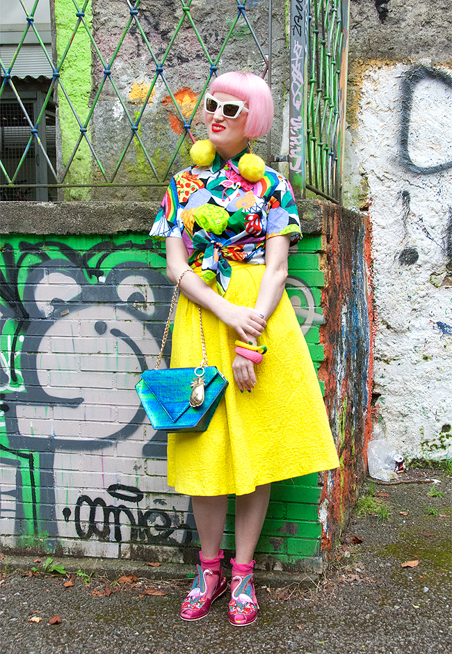 streetstyle, blogger, colourful look