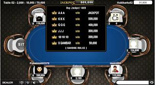 jackpot pada permainan samgong