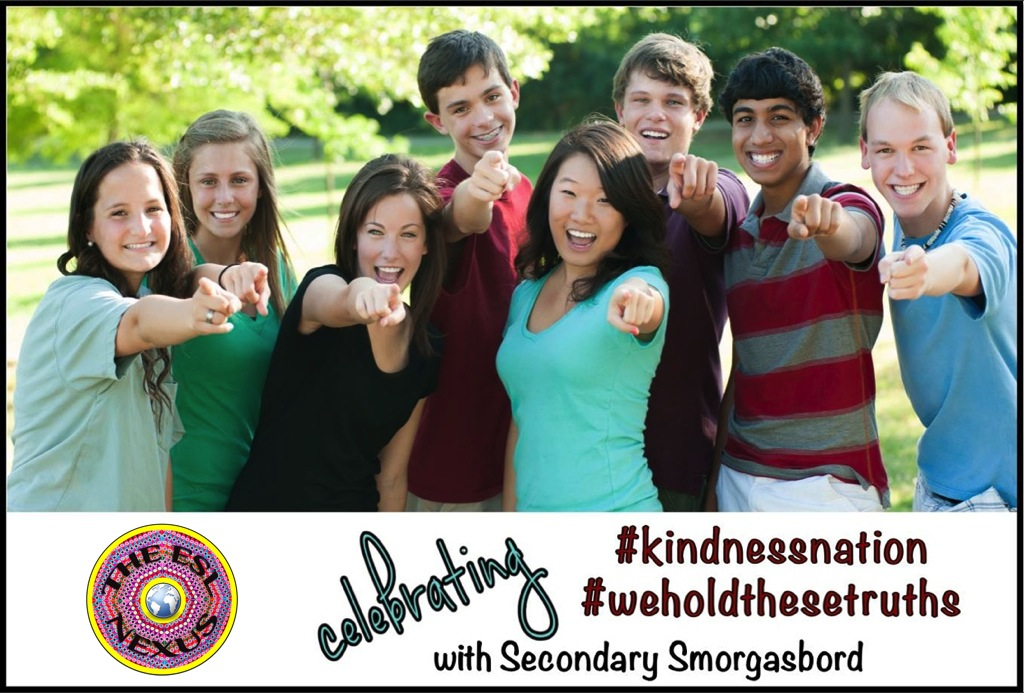 Secondary Smorgasbord Blog Hop for #KindnessNation & #WeHoldTheseTruths Resources | The ESL Connection
