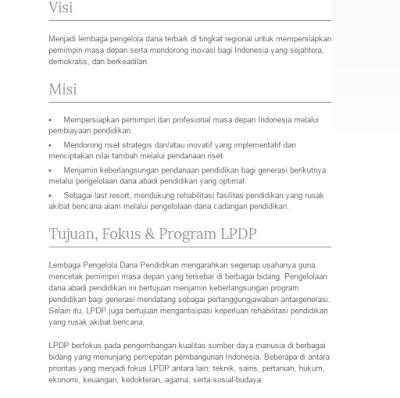 cara mendapat beasiswa LPDP