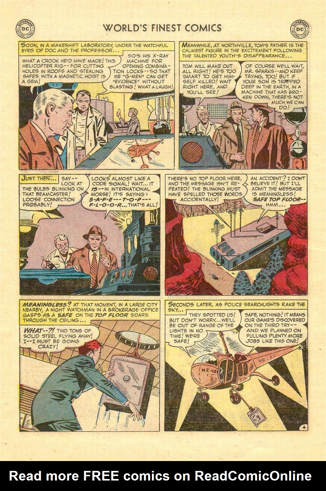 Read online World's Finest Comics comic -  Issue #52 - 56