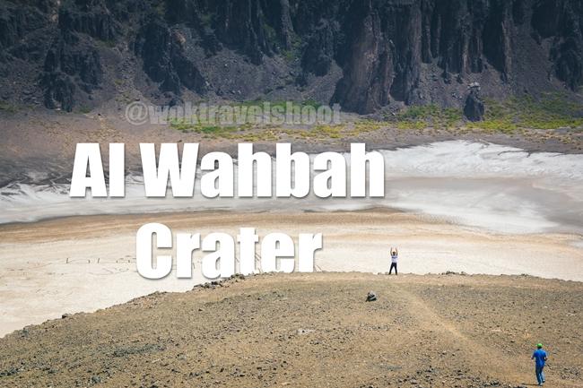 Al Wahbah Crater Taif by Elriz Buenaventura