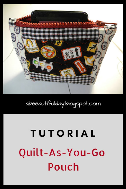 Tutorial-Quilt-as-you-go Pouch-abeeautifulday.blogspot.com