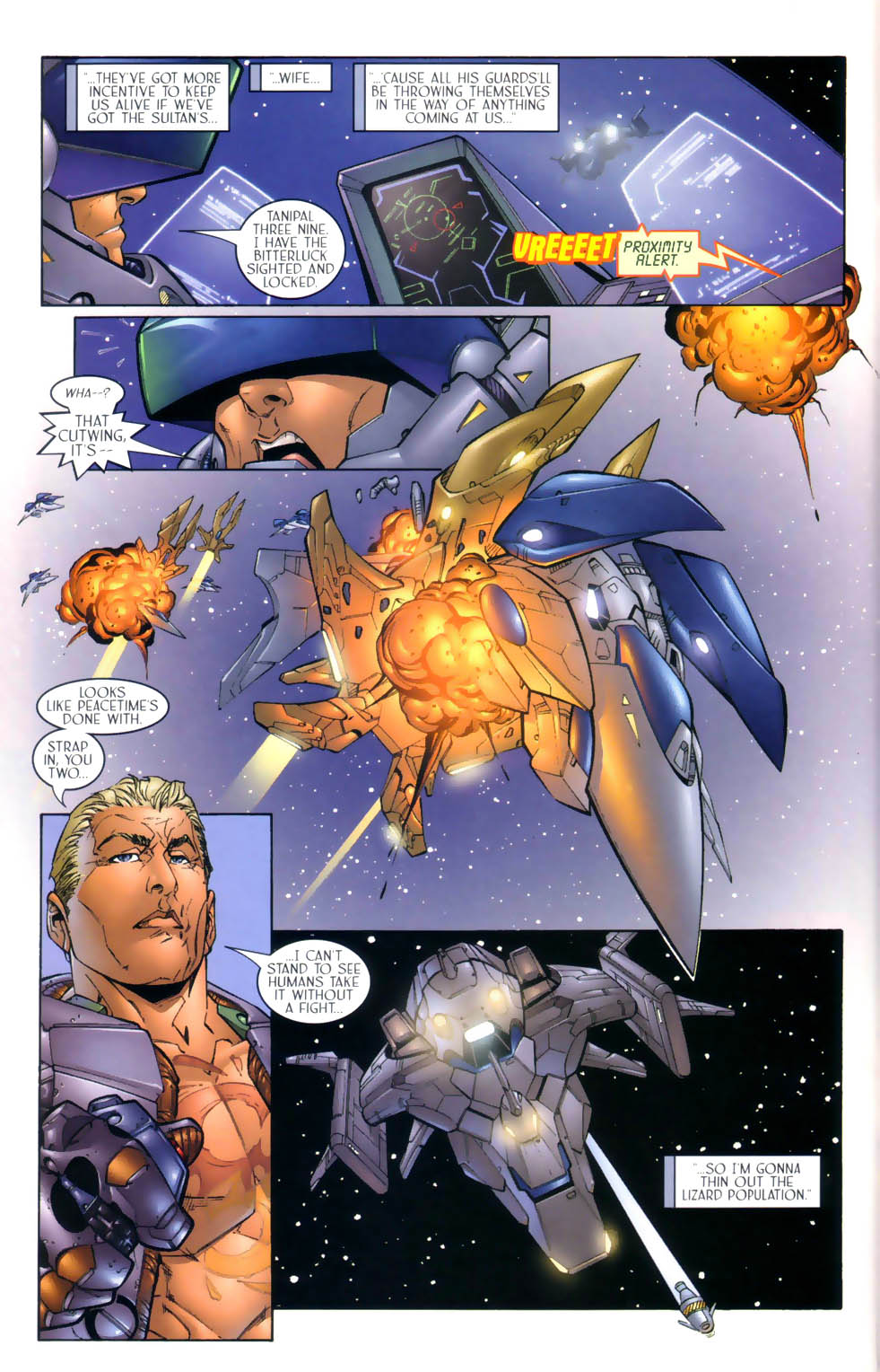Read online Sigil (2000) comic -  Issue #3 - 11