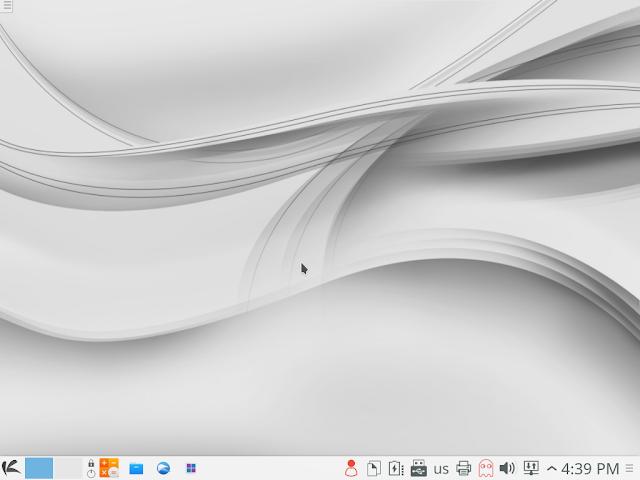 Default KaOS Desktop