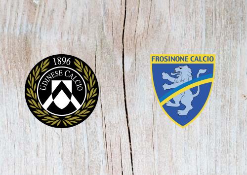 Udinese vs Frosinone - Highlights 22 December 2018