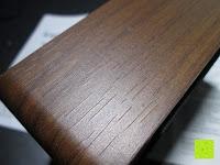 Ritze: kwmobile Wecker Digital Uhr aus Holz mit Geräuschaktivierung, Temperaturanzeige und Tastaktivierung
