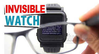 the invisible spy watch - Homies Hacks