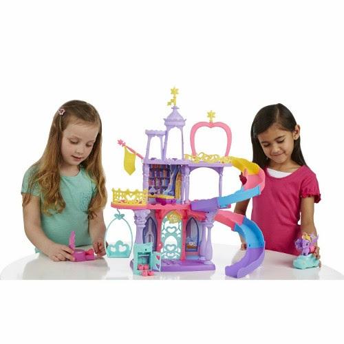 Libros Y Juguetes 1demagiaxfa Toys My Little Pony El Castillo M 225 Gico Del Arcoiris